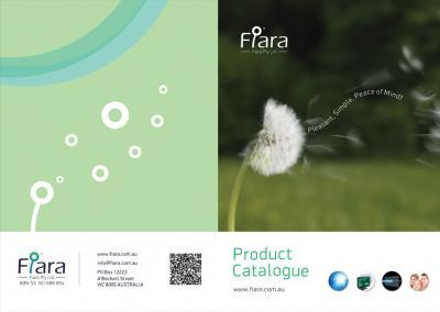 型錄設計-Fiara產品型錄